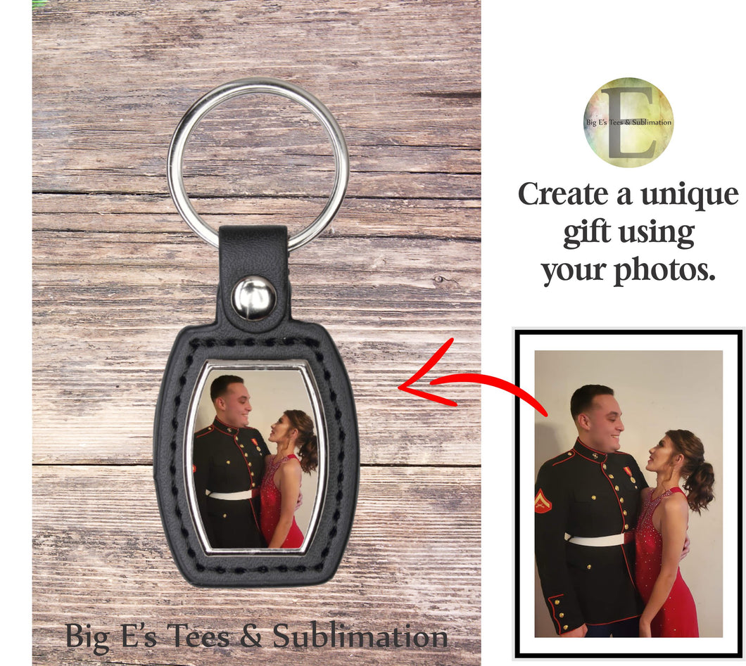 Photo Key Chain ~ Barrel