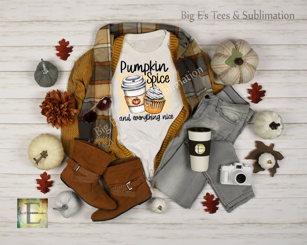 Pumpkin Spice and Everything Nice ~ Unisex Short Sleeve Tee