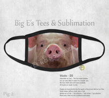 Load image into Gallery viewer, Face Mask ~ Pig 2