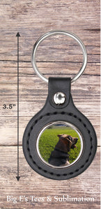 Photo Key Chain ~ Round