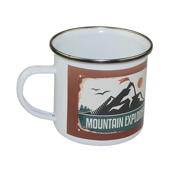 Camp Cup Mug - Stainless Steel - White - 11 oz