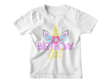 Load image into Gallery viewer, Personalized Birthday Girl T-Shirt