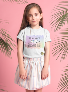 I'll get over it ~ I just need to be DRAMATIC first!  YOUTH Short Sleeve Tee