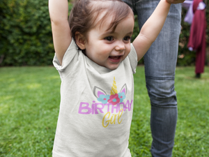 Personalized Birthday Girl T-Shirt
