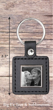 Load image into Gallery viewer, Photo Key Chain ~ Square
