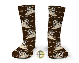 Socks ~ Custom Dog Photo Socks