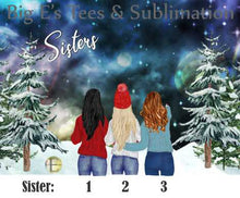 Load image into Gallery viewer, Ornament ~ Personalized Sisters Ornament