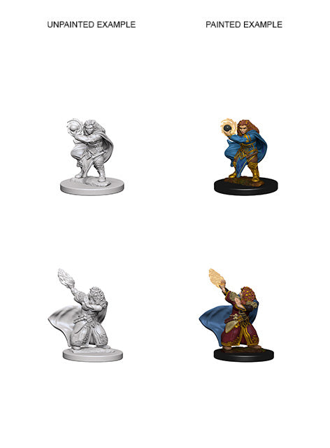 DUNGEONS AND DRAGONS: NOLZUR'S MARVELOUS UNPAINTED MINIATURES -W4-FEMALE DWARF WIZARD
