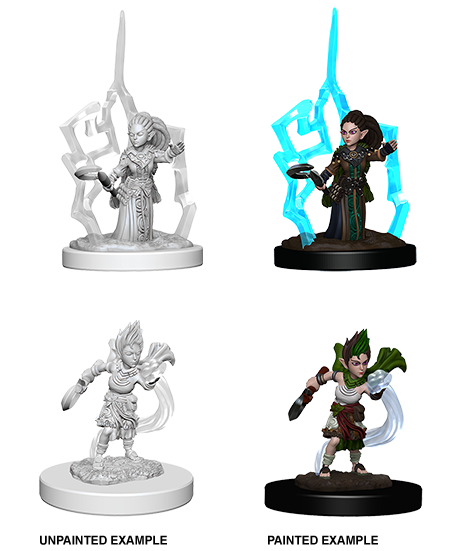 PATHFINDER: DEEP CUTS UNPAINTED MINIATURES -W5-FEMALE GNOME DRUID