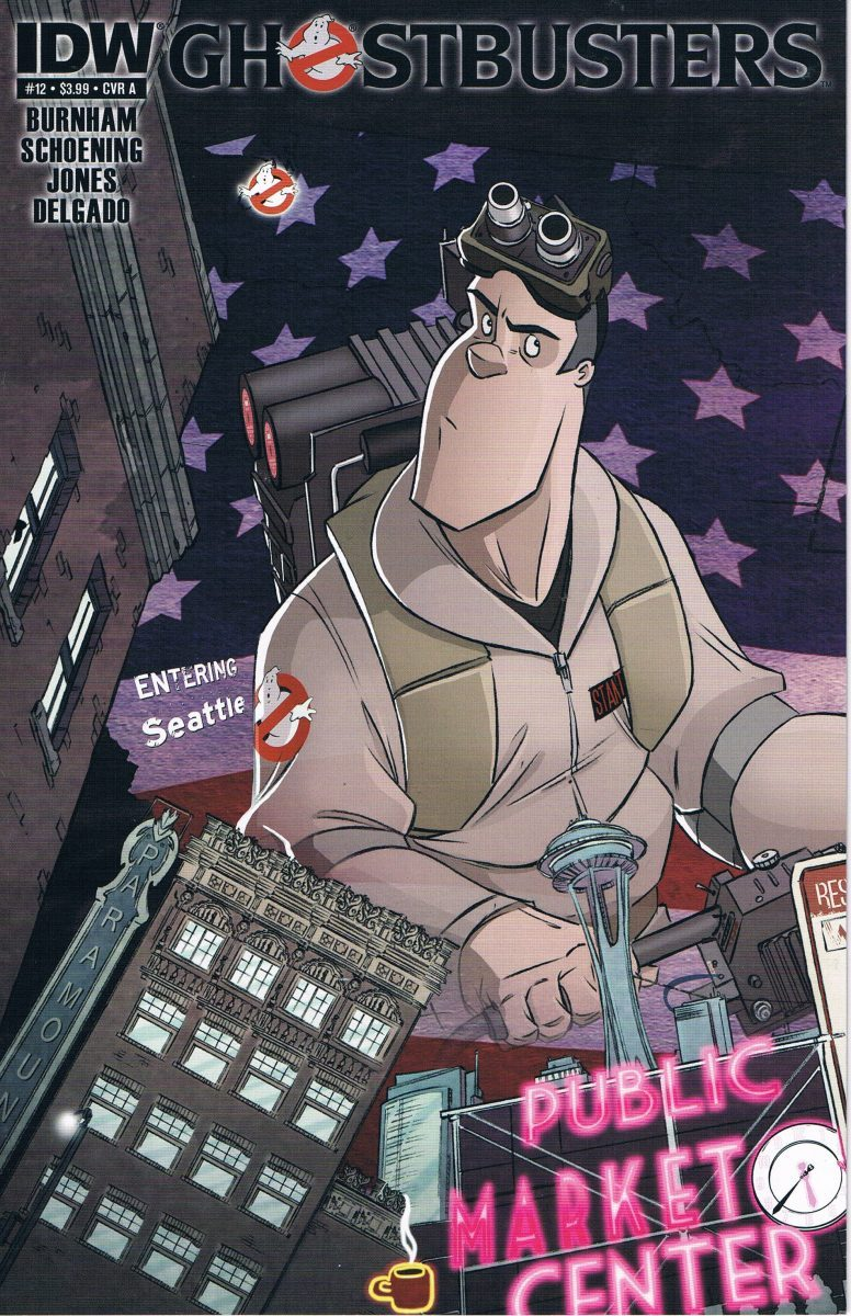 Ghostbusters #12 A