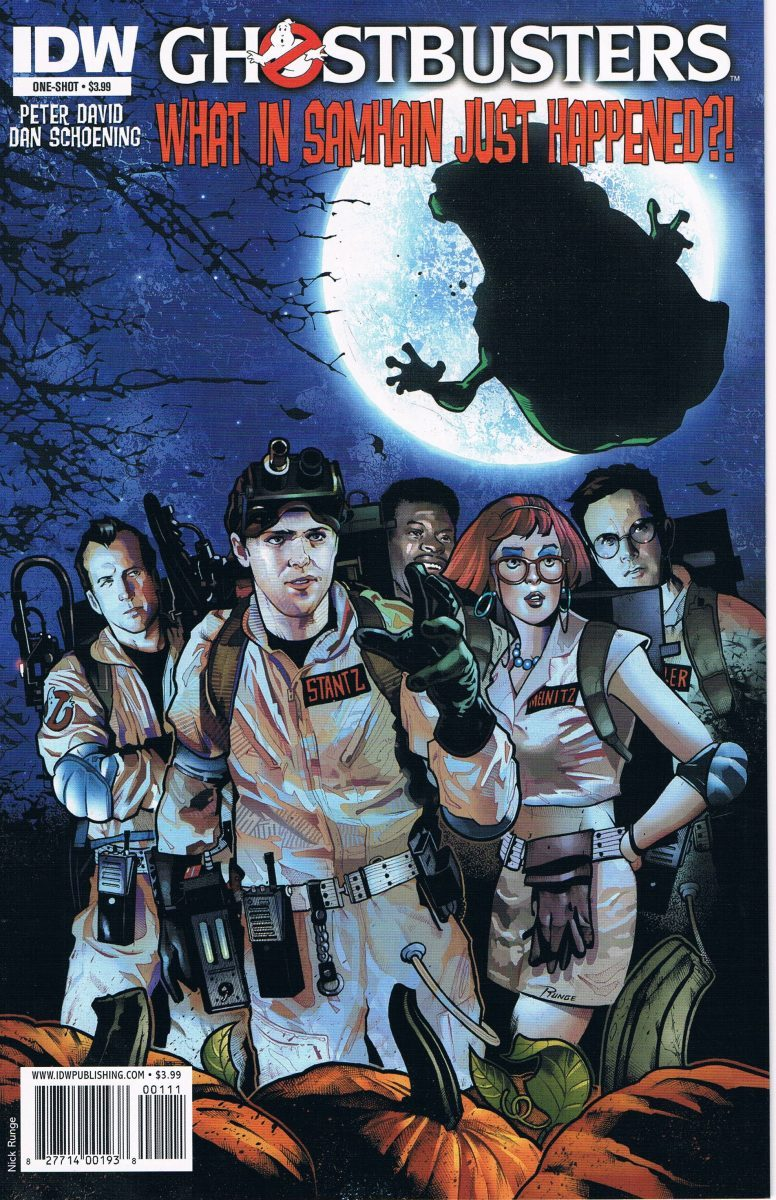 Ghostbusters What In Samhain Just Happened #0 A One-Shot
