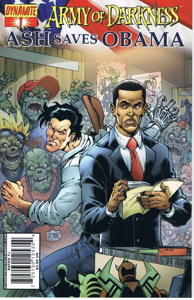 Army of Darkness Ash Saves Obama #1 A