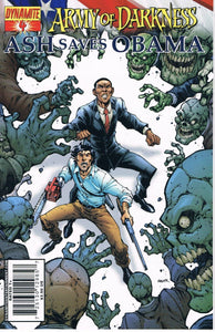 Army of Darkness Ash Saves Obama #4 A