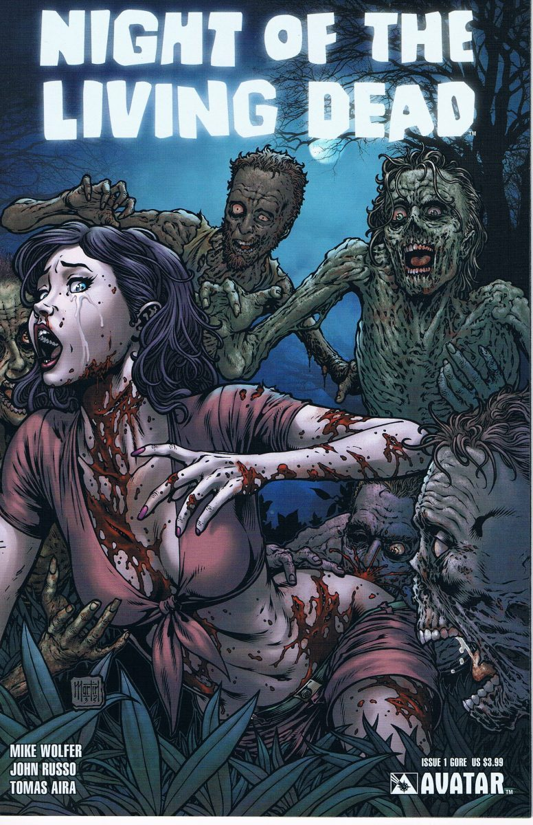 Night of the Living Dead #1 Gore