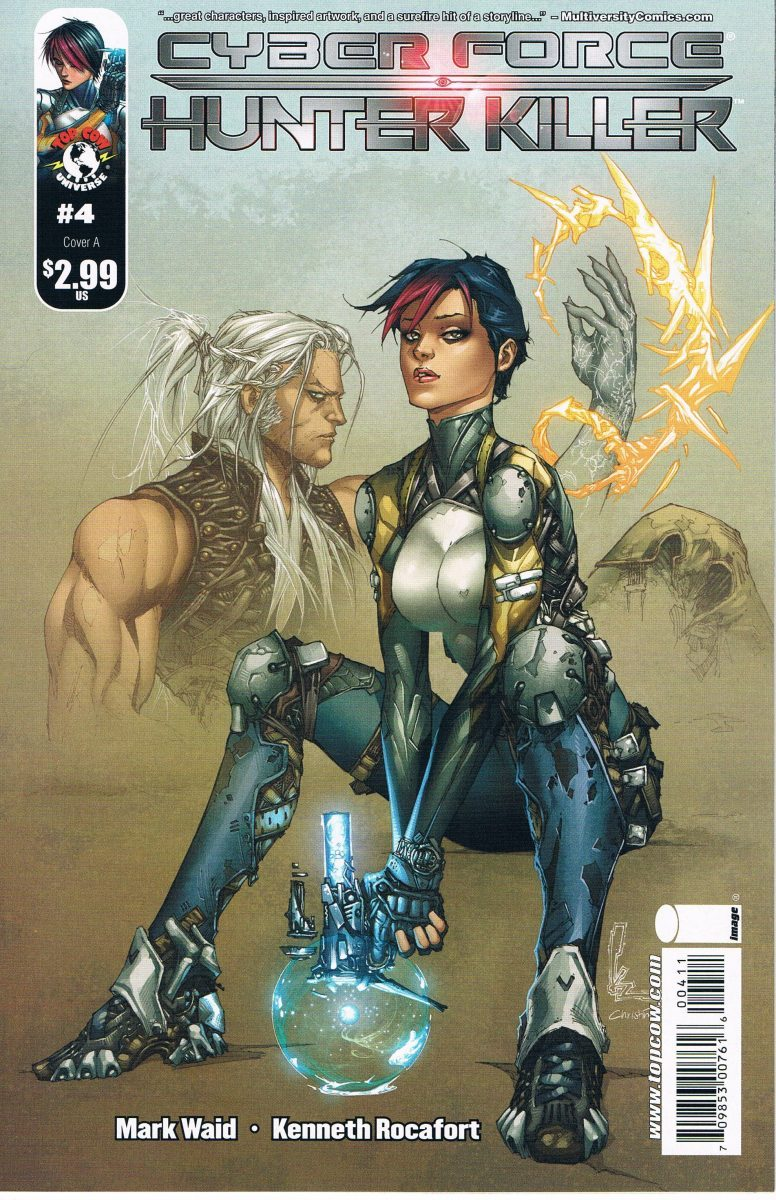 Cyberforce Hunter Killer #4 A
