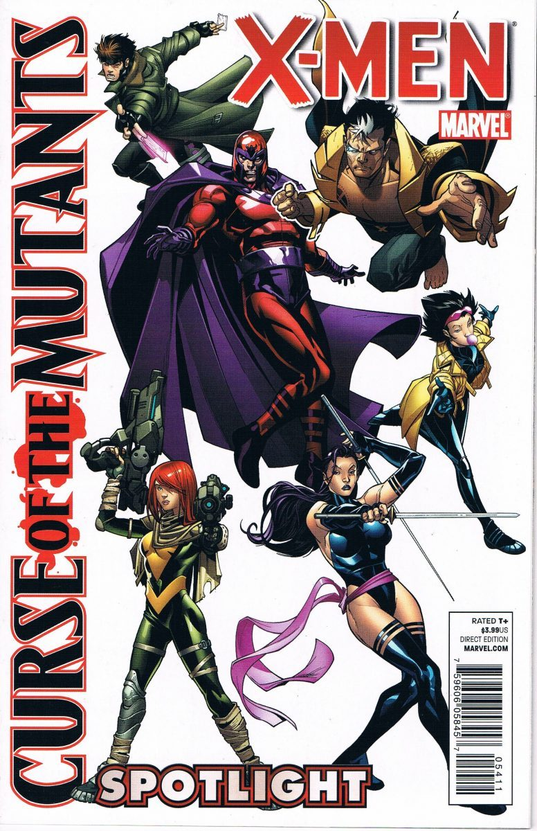 X-Men Curse of the Mutants Spotlight #1 One-Shot