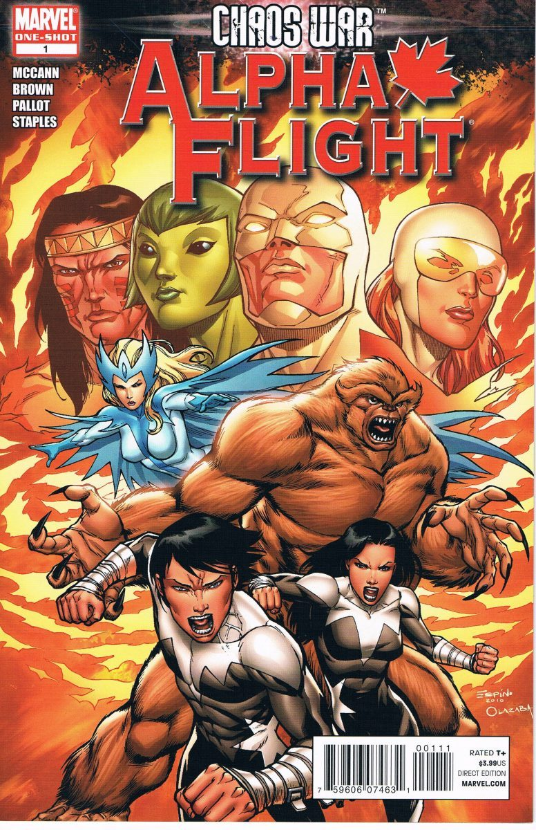 Chaos War Alpha Flight #1 One-Shot