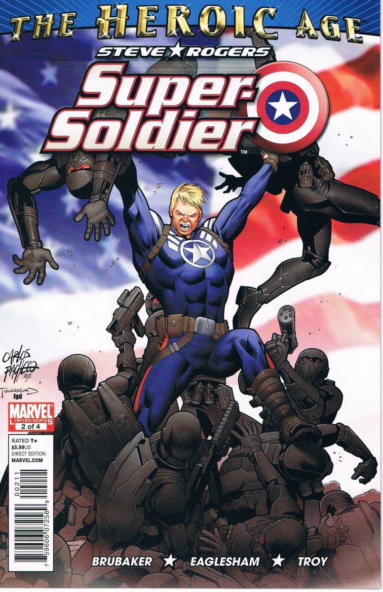 Steve Rogers Super-Soldier #2 A