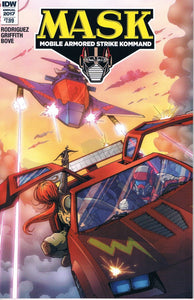 Mask Mobile Armored Strike Kommand Annual #1 A