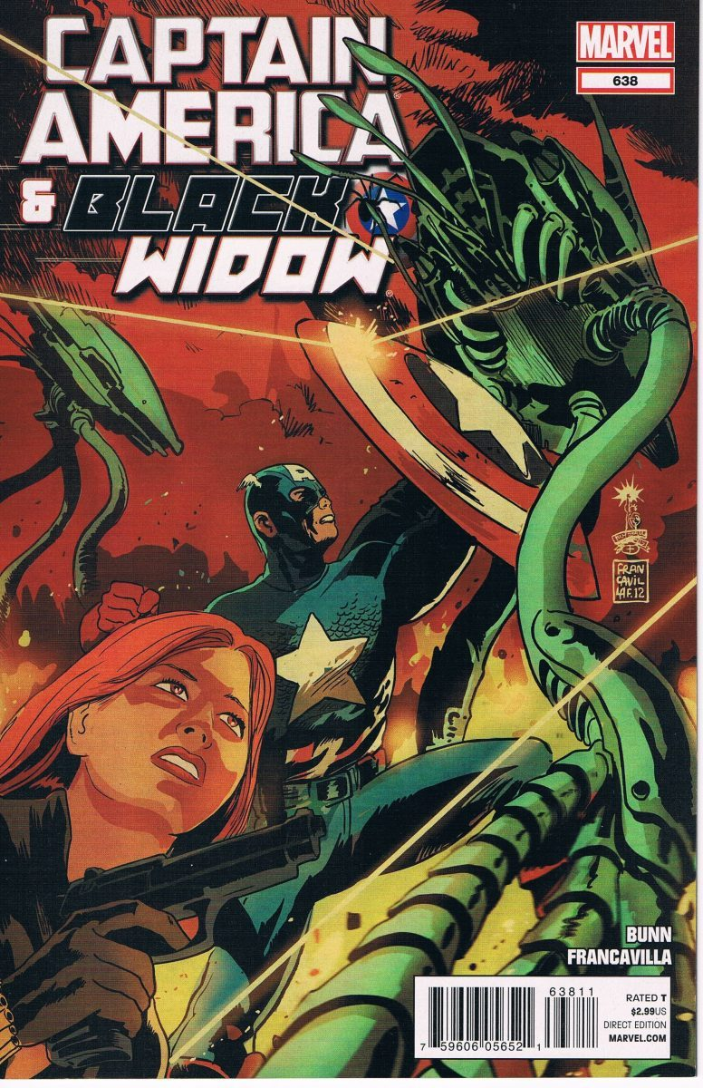 Captain America and Black Widow #638