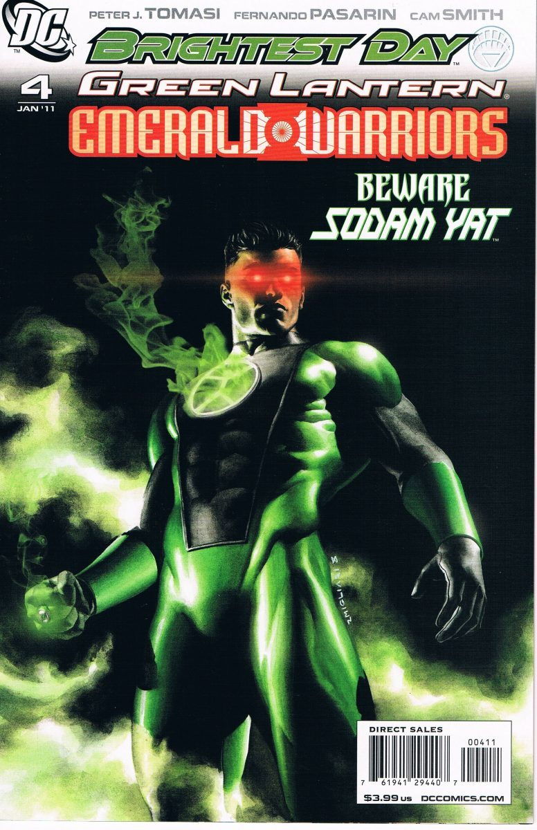 Green Lantern Emerald Warriors #4 A