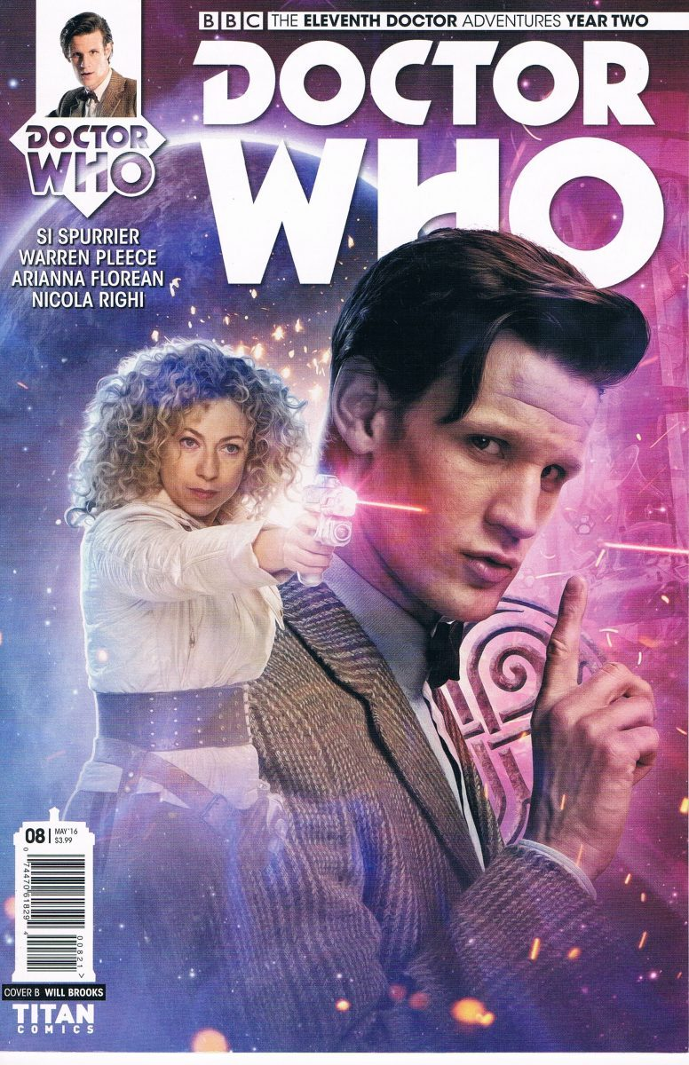 Doctor Who The Eleventh Doctor Year Two #8 B