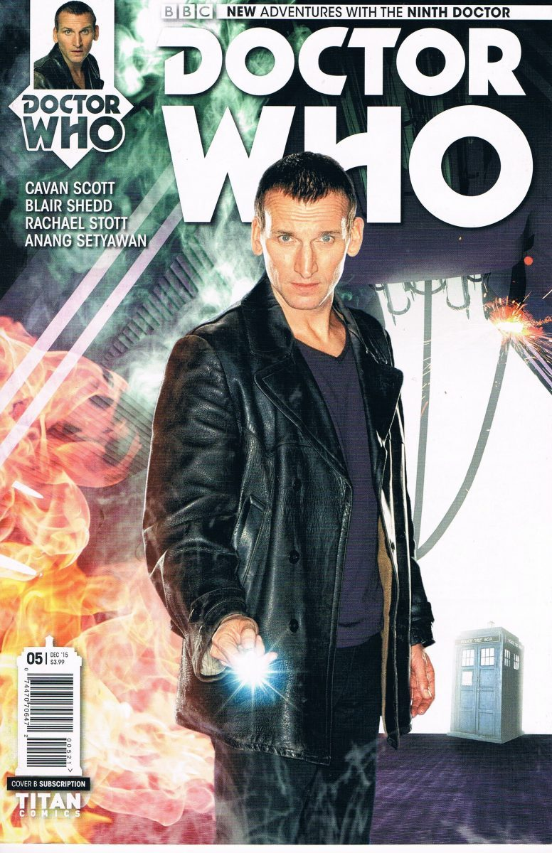 Doctor Who The Ninth Doctor #5 B