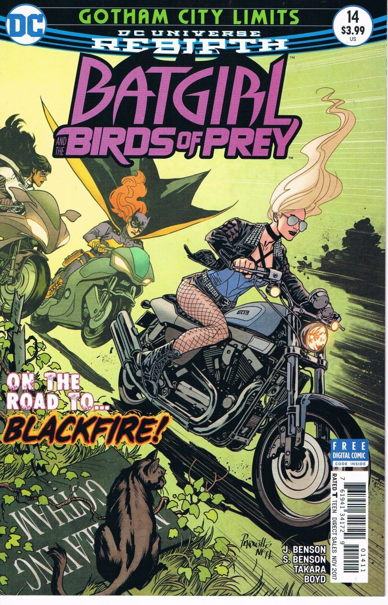 Batgirl and the Birds of Prey #14 A