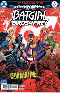 Batgirl and the Birds of Prey #15 A