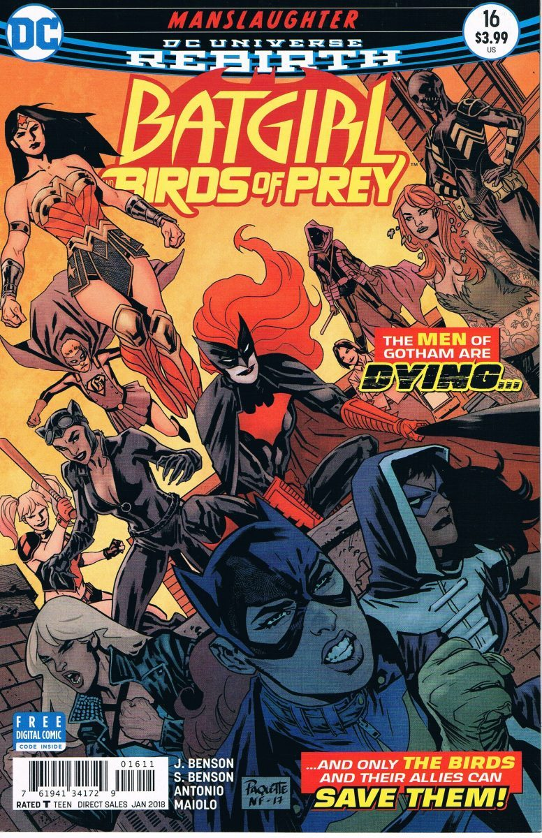 Batgirl and the Birds of Prey #16 A