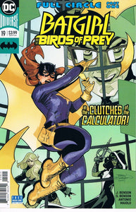Batgirl and the Birds of Prey #19 A