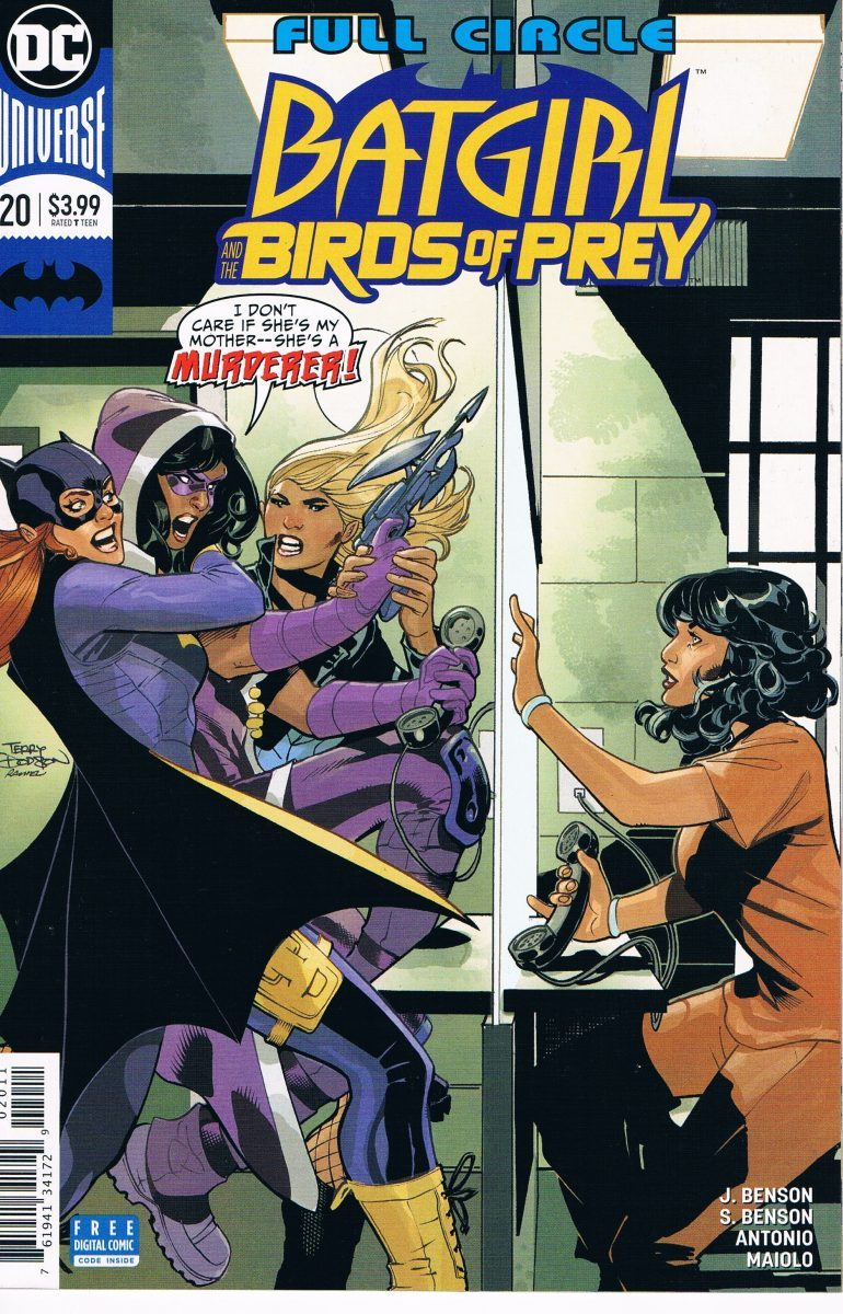 Batgirl and the Birds of Prey #20 A