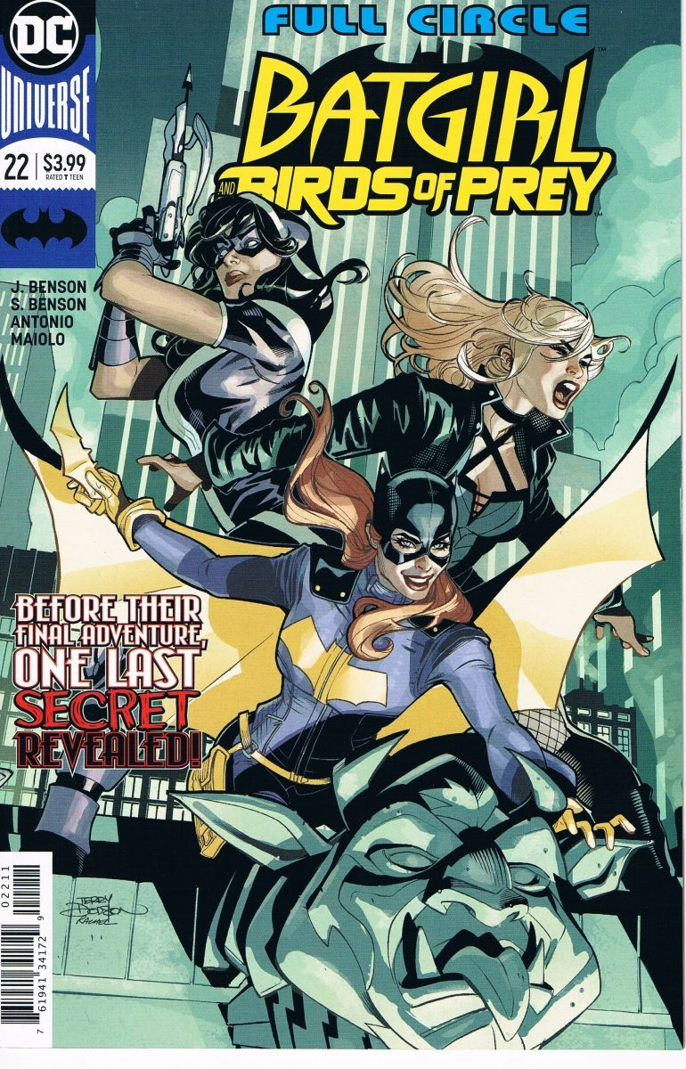 Batgirl and the Birds of Prey #22 A