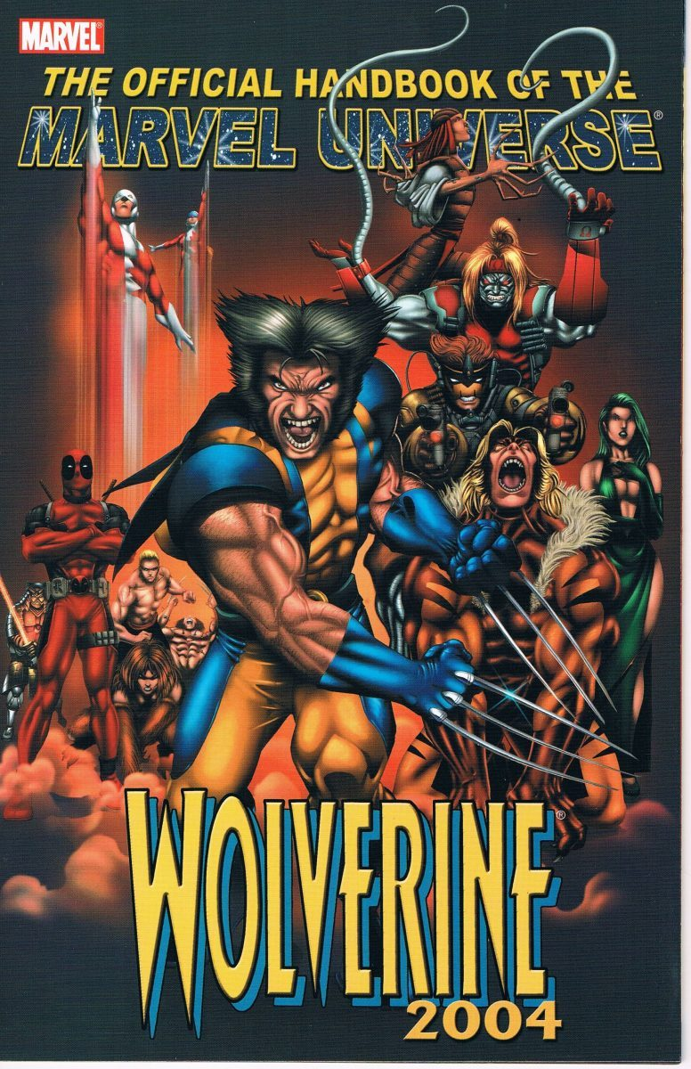 Official Handbook of the Marvel Universe Wolverine 2004