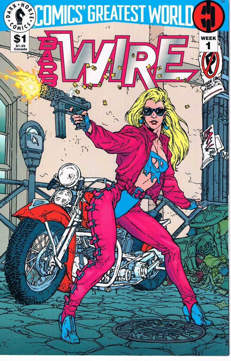 Comics Greatest World Barb Wire #1 A
