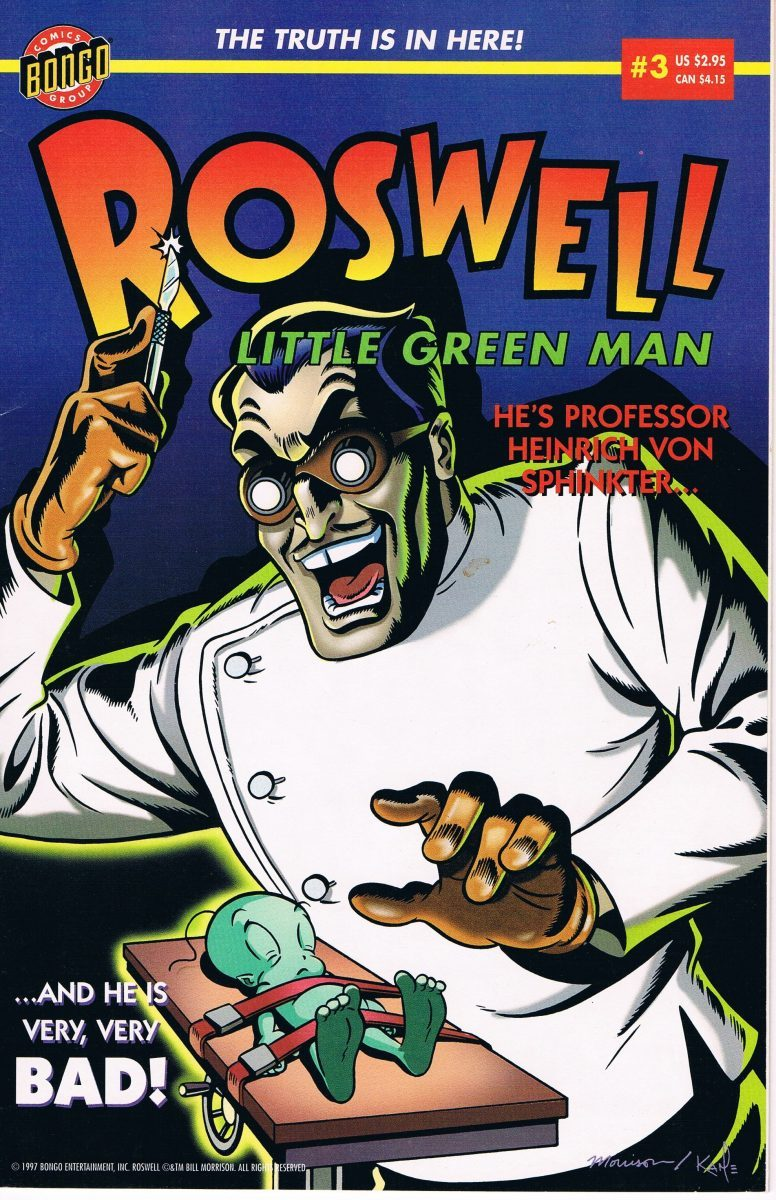 Roswell Little Green Man #3