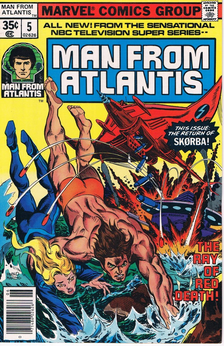 Man from Atlantis #5