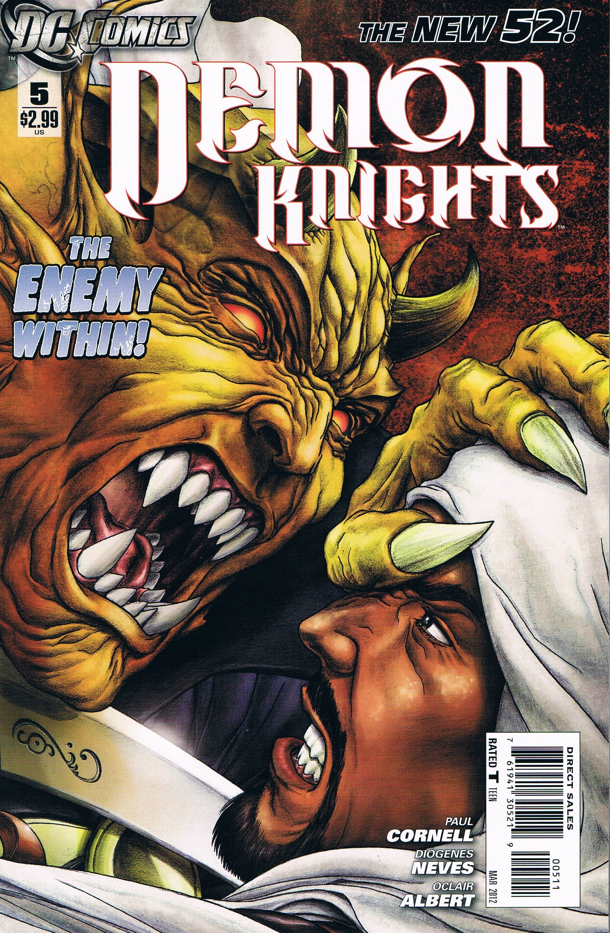 Demon Knights #5
