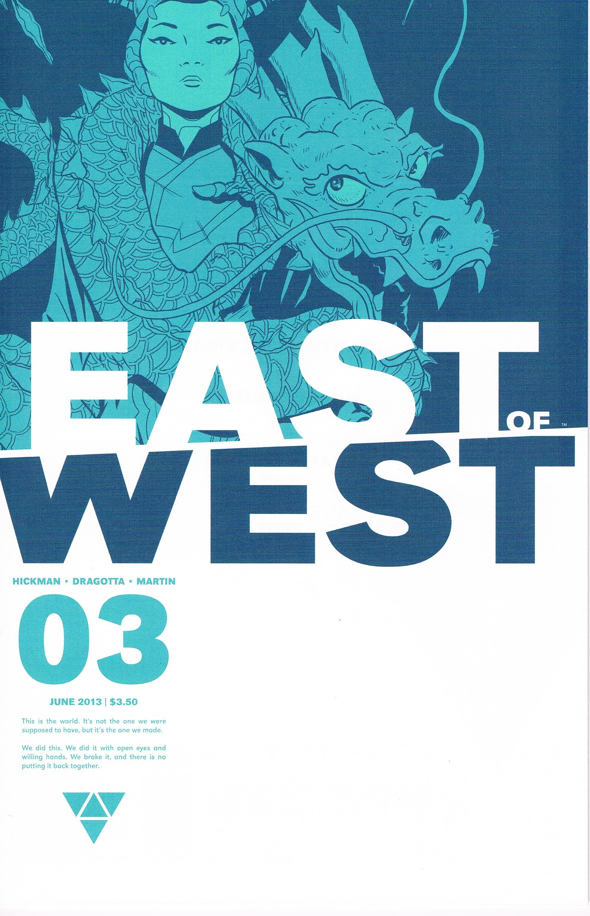 East of West #3 A
