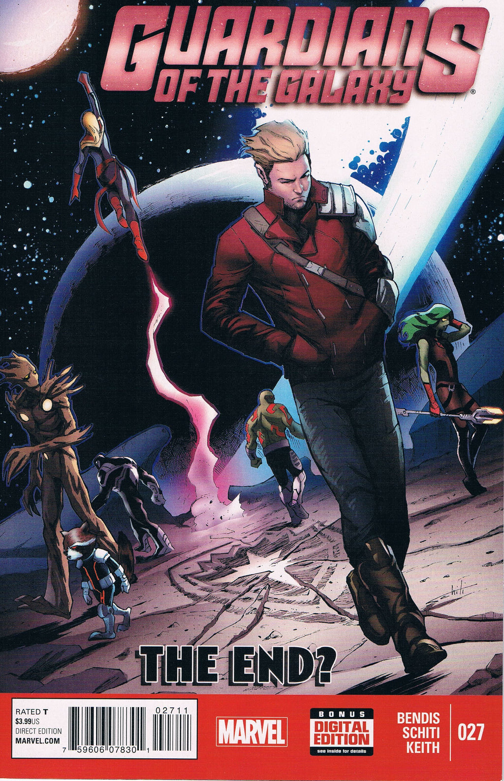 Guardians of the Galaxy #27 A