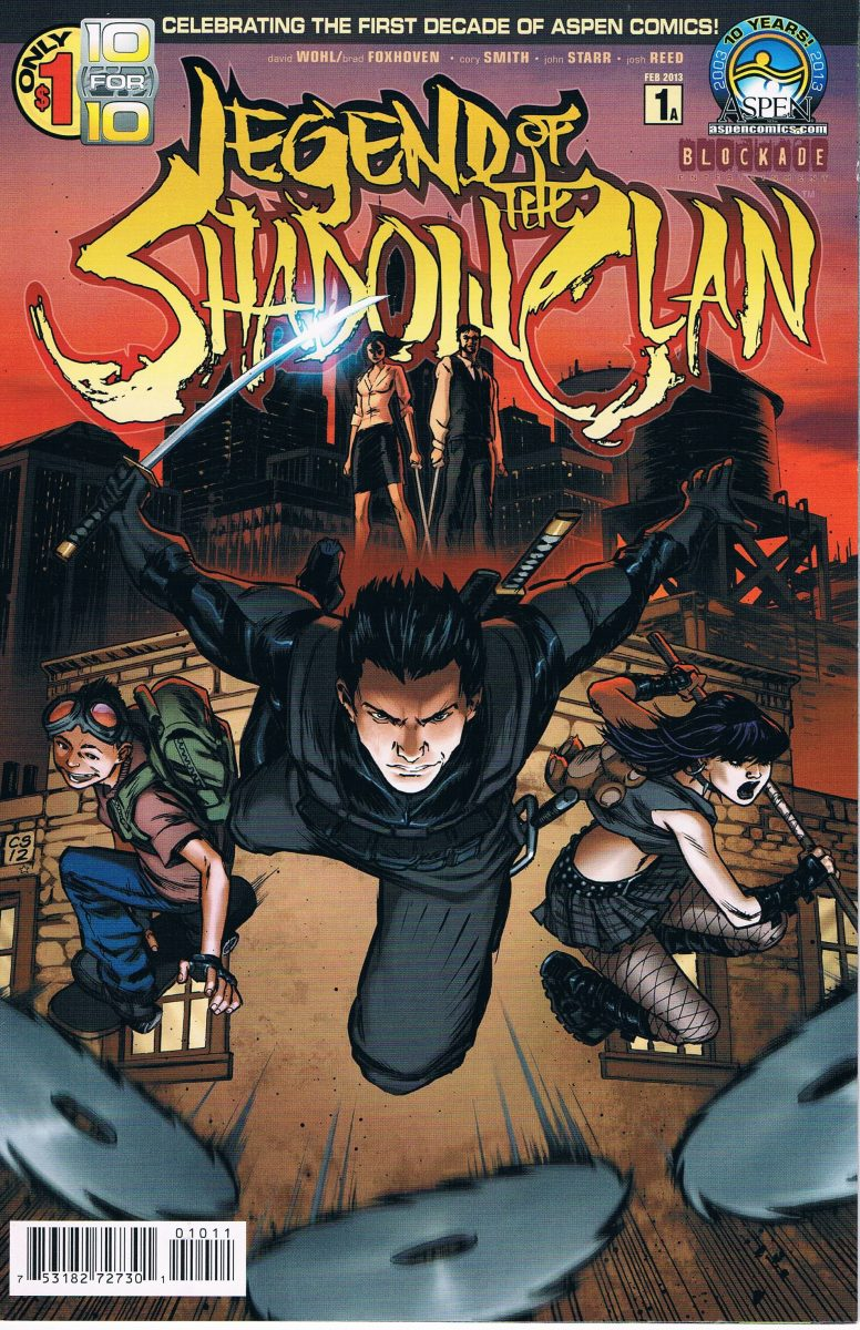 Legend of the Shadow Clan #1 A