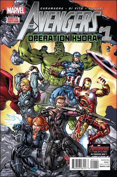 Avengers Operation Hydra #1 A One-Shot