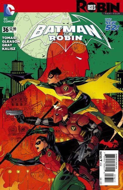 Batman and Robin #36 A
