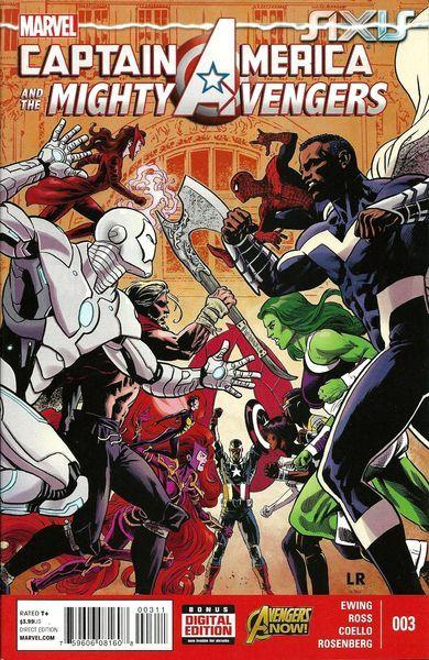 Captain America & The Mighty Avengers #3 A