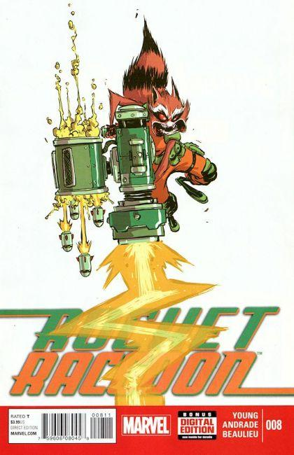 Rocket Raccoon #8 A