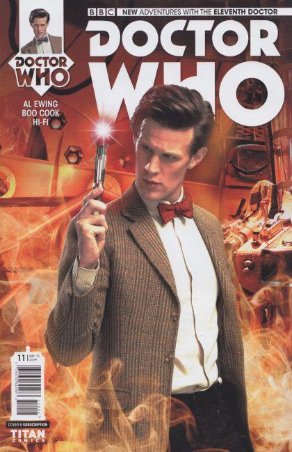 Doctor Who The Eleventh Doctor #11 B