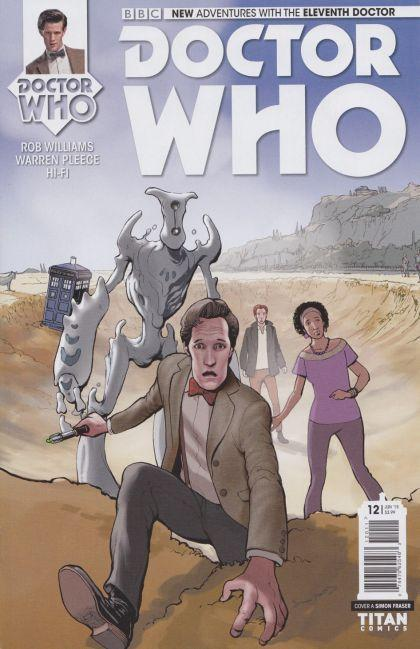 Doctor Who The Eleventh Doctor #12 A