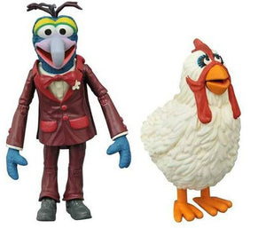 MUPPETS SELECT ACTION FIGURE GONZO & CAMILLA