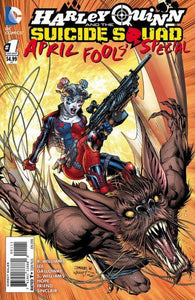 Harley Quinn and Suicide Squad April Fool's Special #1 A