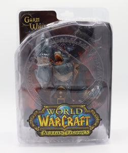 DC UNLIMITED WORLD OF WARCRAFT GARM WHITEFANG FIGURE